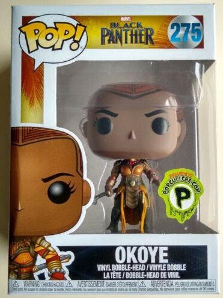 Okoye Funko Pop! Marvel Black Panther #275 Popcultcha Exclusive