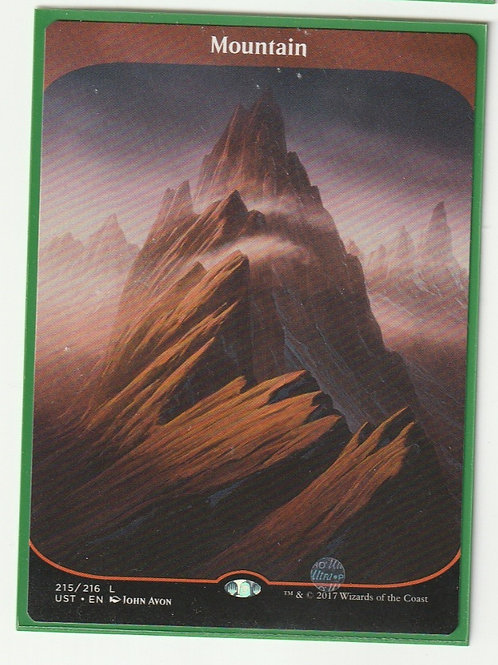 Mountain Unstable Land #215/216