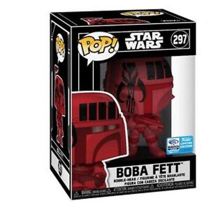 Boba Fett Funko Pop! Star Wars #297 2020 Wonder Con
