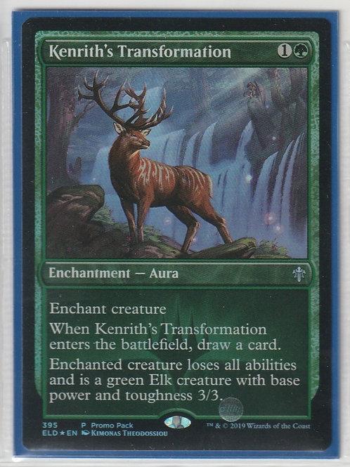 Kenrith's Transformation Foil Throne of Eldraine #395