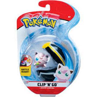 Jigglypuff & Luxury Ball Pokemon Clip'N'Go