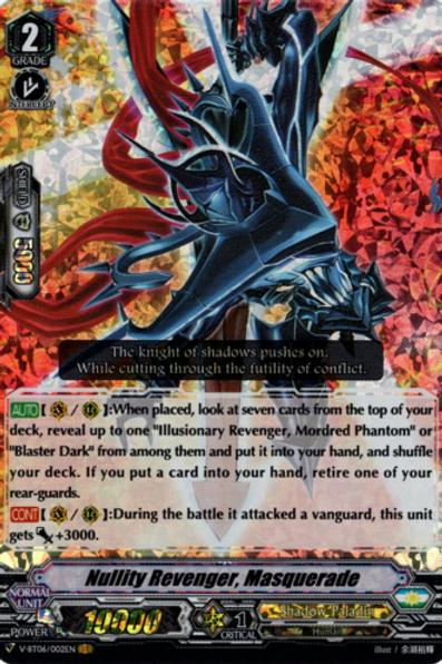 Nullity Revenger, Masquerade V-BT06/002EN
