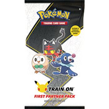 Pokemon  Train On First Partner Pack Alola