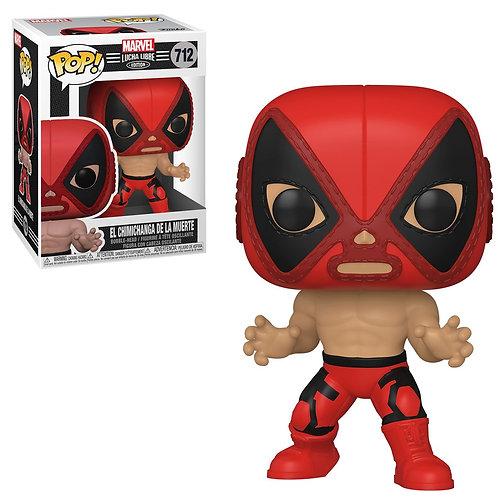 El Chimichanga De La Muerte Deadpool Funko Pop! Marvel Luchadores #712