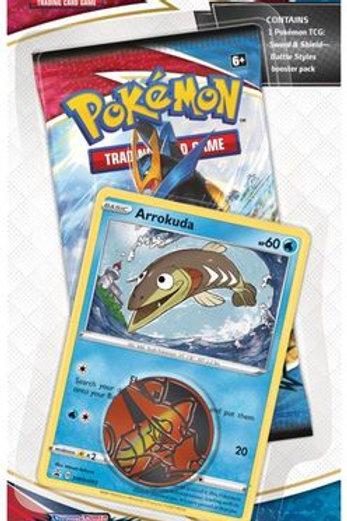 Arrokuda Pokemon Battle Styles Blister Pack