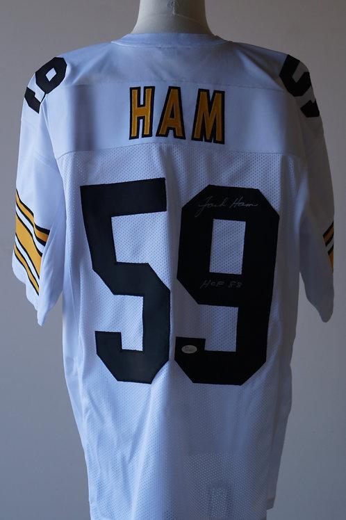 Jack Ham Pittsburg Steelers Autographed Jersey