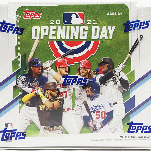 2021 Topps Opening Day Hobby Box