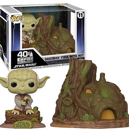 Dagobah Yoda with Hut Funko Pop! Star Wars #11