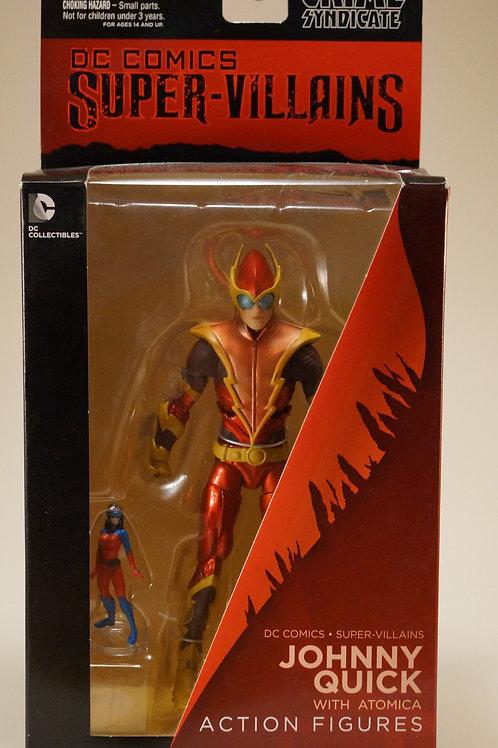 Johnny Quick with Atomica Dc comics Super-Vilains Action Figures