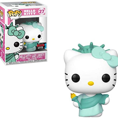 Hello Kitty Lady Liberty Funko Pop! Hello Kitty #27 2019 Fall Convention