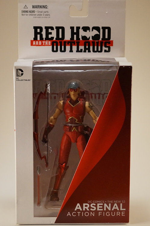 Arsenal Red Hood AndThe Outlaws Dc Comics Action Figure
