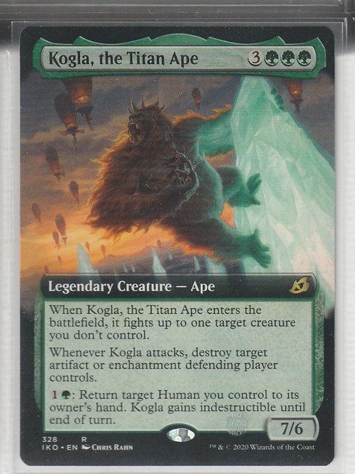 Kogla, the Titan Ape Ikoria Lair of Behemoths Alternate Art 328