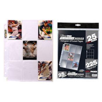 9PKT Ultra Pro Platinum 25 Pack