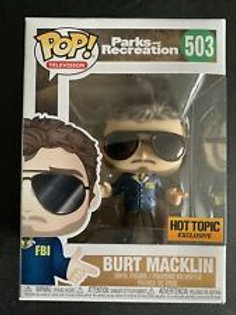 Burt Macklin Funko Pop! Parks and Recreation #503 Hot topic