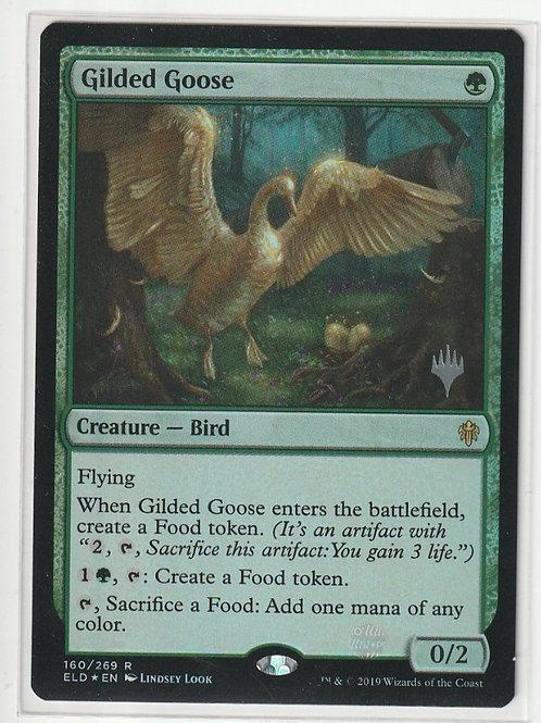 Gilded Goose Foil Throne of Eldraine Promos 160/269