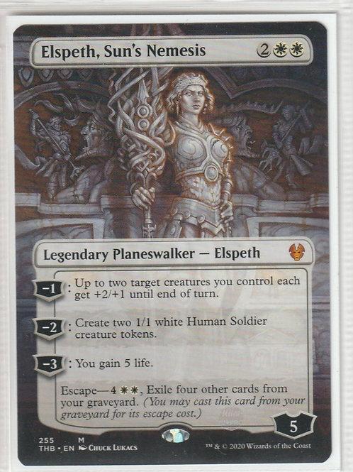 Elspeth, Sun's Nemesis Theros Beyond Death Alternate Art #255