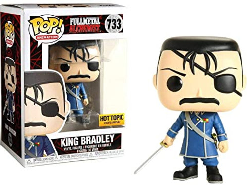 King Bradley Funko Pop! FullMetal Alchemist #733 Hot Topic