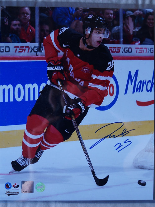 Darnell Nurse Team Canada World Juniors Autographed Photo