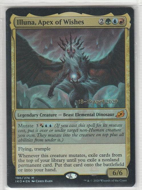 Illuna, Apex of Wishes Ikoria Foil Lair of Behemoths Promos  #190/274