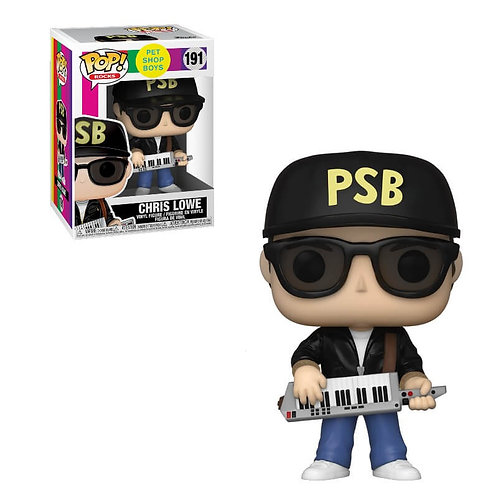 Chris Lowe Funko Pop! Pet Shop Boys #191