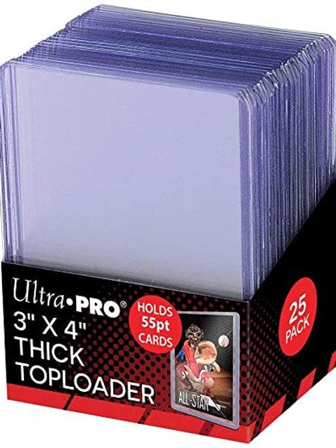 55pt Thick Toploader Ultra Pro (25pack)
