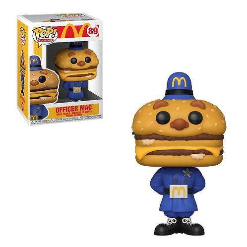 Officer Mac Funko Pop! Mc Do #89