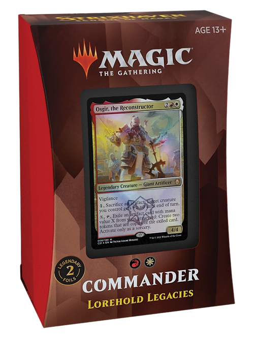 Lorehold Legacies Strixhaven: School of Mages MTG Commander