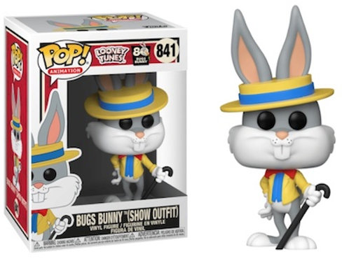 Bugs Bunny Show Outfit Funko Pop Looney Tunes #841