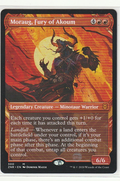 Moraug, Fury of Akoum Showcase Zendikar Rising #300