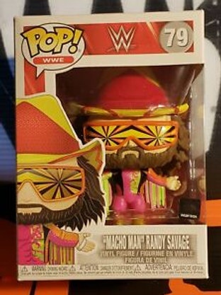 Macho Man Randy Savage Funko Pop! WWE #79