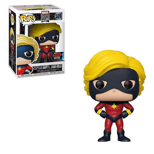 Captain Marvel Funko Pop! 80 Years #526 2019 Fall Convention