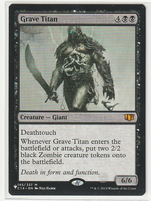 Grave Titan Mystery Booster #145/337