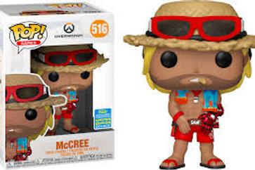 McCree Funko Pop! Overwatch #516 2019 Summer Convention Exclusive