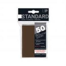 Brown 50ct Standard Deck Protector Sleeves