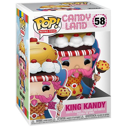 King Candy Funko Pop! CandyLand #58