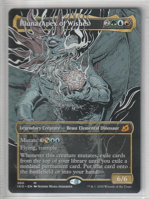 Illuna, Apex of Wishes Ikoria Lair of Behemoths Alternate Art #300