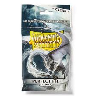 Clear Dragon Shield Perfect Fit Sleeves