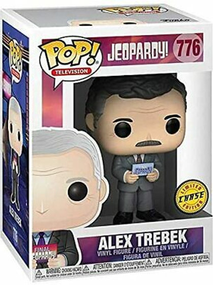 Alex Trebek Funko Pop! Jeopardy #776 Chase