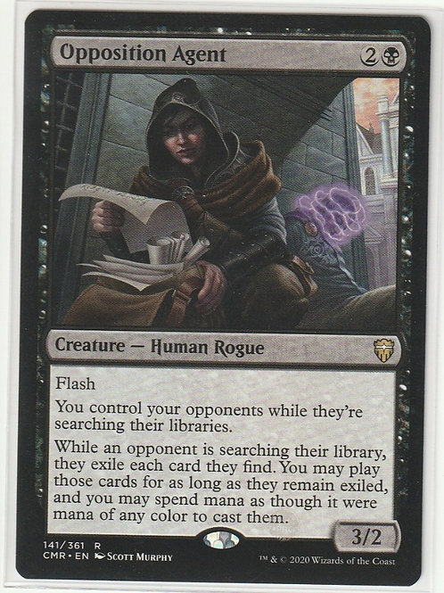 Opposition Agent Commander Legends #141/361
