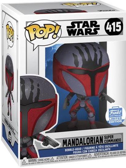 Mandalorian Super Commando Funko Pop! #415 Funko Shop Exclusive