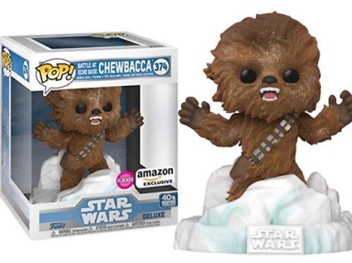 Chewbacca Battle at Echo Base Funko Pop! Star Wars #374 Flocked Amazone Excl.
