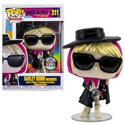 Harley Quinn Incognito Funko Pop! Birds Of Prey Speciality Series #311