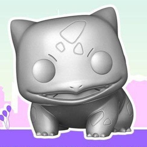 Bulbasaur Silver Metallic Funko Pop! Pokemon *Pre-Order*