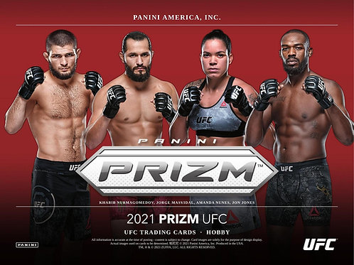 2021 Panini Prizm UFC Retail Pack