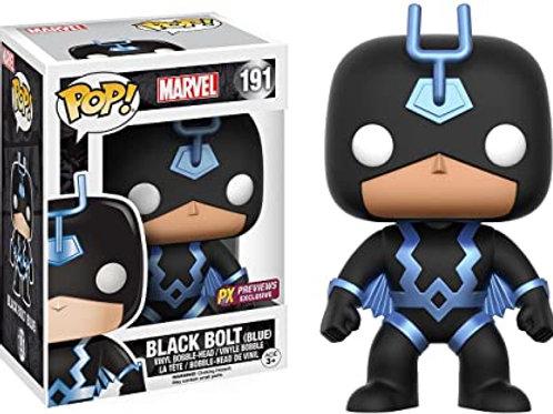 Black Bolt Blue Funko Pop! Marvel #191 Px Previews Exclusive