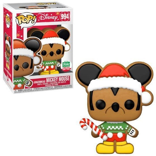 Mickey Mouse Gingerbread Funko Pop! Disney #994 Funko Limited