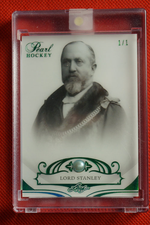 2017-18 Leaf Pearl Green Lord Stanley #19  1/1