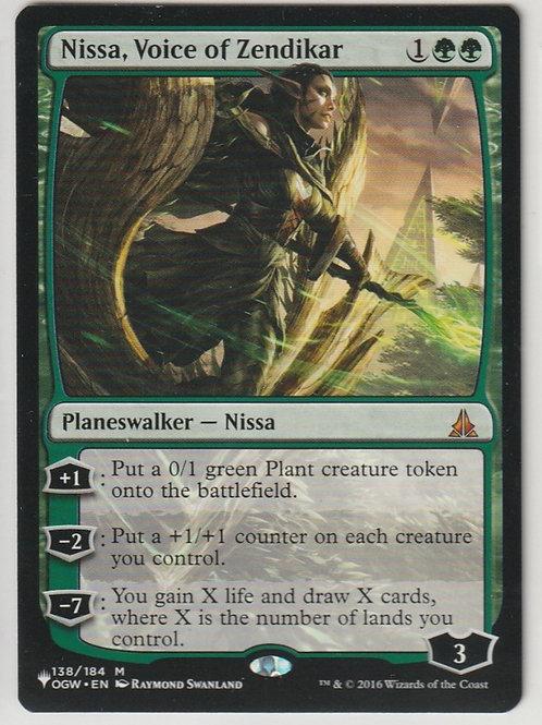 Nissa, Voice of Zendikar Oath of the Gatewatch #138/184