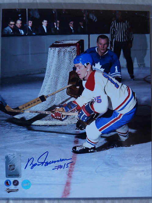 Bobby Rousseau Montreal Canadiens Autographed Photo