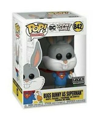 Bugs Bunny As Superman Funko Pop! Looney Tunes #842 FYE Exclusive